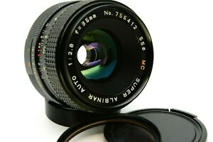 Super Albinar M42 35mm 1:2.8 Wide Angle Lens Digital Adapt