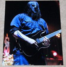 MICK THOMSON SLIPKNOT GUITARIST SIGNED AUTHENTIC 11X14 PHOTO D w/COA METAL