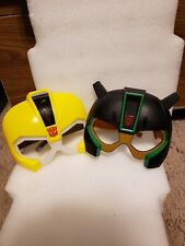 Mattel Transformer Mask Eye Glasses set of 2 Bumblebee Great Condition