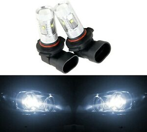 LED 30W 9006 HB4 White 5000K Two Bulbs Fog Light Lamp Plug Play Replace OE