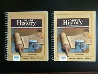 10th Grade - World History - Teacher's Ed. (2nd ed.) (BJU Press)