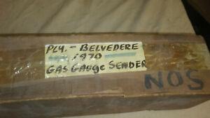 """NOS 1968-1970 Plymouth Belvedere Sending Unit, 5/16"""" Line W/O Return Line"""