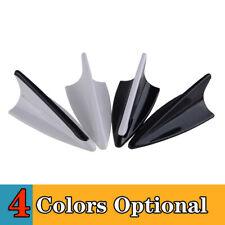1PCS Blavk+White Dummy Car Shark Fin Design Roof Aerial Decorative Antenna Cover