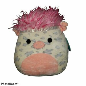 """Squishmallow 10"""" Rosie Pig 🐷 Squish Doo with Pink Hair BNWT"""