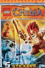 LEGO CHIMA X5O LOOSE STICKERS