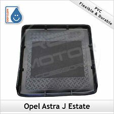 Opel Astra J Estate 2009 onwards Moulded PVC Boot Liner Mat Bootmat