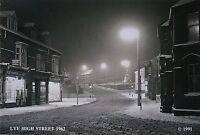 Stourbridge Postcard - Lye High Street, Lye (1962) Snow Scene -  Worcestershire