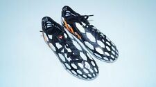 * Nuovo * ADIDAS ABSOLION 14 scarpe calcio nero bianco SOCCER EU 40 = UK 6,5 NEW