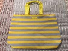 (NEW!) lancome paris Women's stripe tote bag