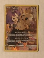 Mimikyu Full Art 245/236 Secret Rare Cosmic Eclipse Pokemon Card NM 👁 🧿👁🗨