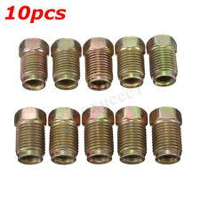 """10 x frein Male court tuyau écrous métriques de tubes en acier 10 x 1.0mm 3/16"""""""
