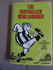 The Footballer Who Laughed Lou Richards & Tom Prior Signed By Both Authors
