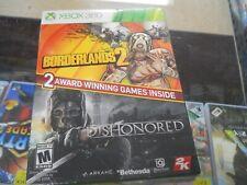 Borderlands 2/Dishonored (Microsoft Xbox 360, 2014)
