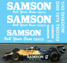 1//43 B192 Benetton Ford F1 1992 Decal Missing Sponsor Decals TBD304