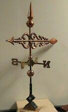 Copper Arrow weathervane,Complete Cottage/medium size vane with mount.Shipsfast