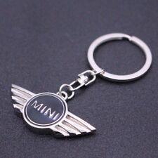 Black Mini Logo Metal Car Keyrings Key chain Key Rings Creative Keychains Gifts