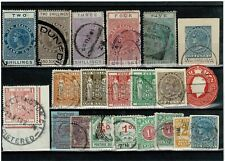 L106 MORE New Zealand Postal Fiscals etc. on card (21)