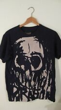 Dragon Alliance Skull S t-shirt Skate Thrasher Metal Goth Punk Keith Richards