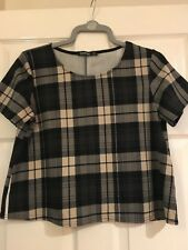 09dbe61412a9a Boohoo Gingham Tops & Shirts for Women for sale | eBay