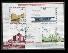 Germany Scott No. 1959 German Architecture after 1945  S/S USED