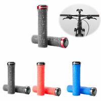 ROCKBROS Bicycle Handlebar Lock On Grips For MTB BMX Bike Soft Anti-slip 4 Color
