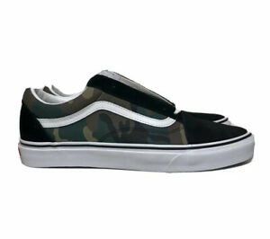 Vans Old Skool Pro Camo Mens Size 11 Woodland Camo Black Green Brown Military