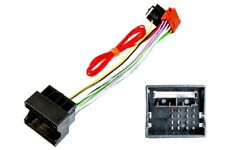 VW group Quadlock to ISO radio adapter harness, hardwire ignition