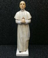 Rare Vintage Pope Pius XII Statue 1950s E & R Germany, Goebel Porcelain Figurine