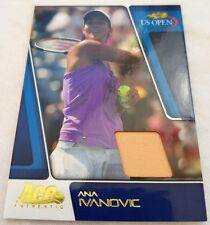 Ana IVANOVIC Ace Authentic US Open Memorabilia Jersey card #11/25 Tennis