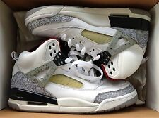Air Jordan Retro Spizike White and Cement Grey Size 7.5 USED 100% AUTHENTIC