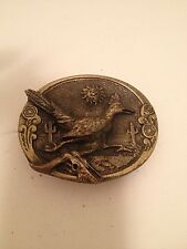 Brass Roadrunner Buckle by The Great American Buckle Co