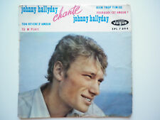 Johnny Hallyday 45Tours EP vinyle Johnny Hallyday Chante Johnny Hallyday vogue