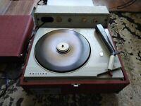 Giradischi fonovaligia Philips anni 50 perfettamente funzionante