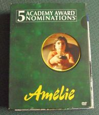 Amelie 2xDvd w/slipcover widescreen Audrey Tautou Jean-Pierre Jeunet