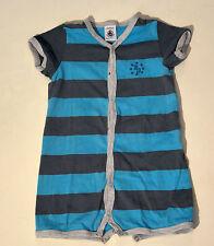 Toller Baby Luxus Schlafanzug Strampler von Petit Bateau Größe 74