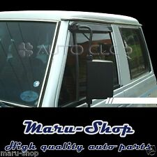 Smoke Door Window Vent Visor Deflector for 82~91 Mitsubishi Montero/Pajero 3DR