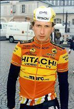 Cyclisme, ciclismo, wielrennen, radsport, PERSFOTO'S HITACHI 1987