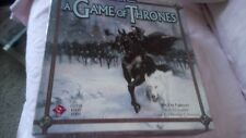 A  GAME OF THRONES  THE BOARD GAME FIRST EDITION. MISIING ONE POWER COUNTER