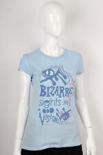 Paul Frank -Small- $29 Ladies Blue Bizarre Sights Odd Visions T-Shirt 142600149