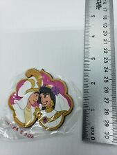 Aladdin & Jasmine vinyl magnet Aladdin & the King of Thieves; Applause NEW