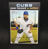 SP! 🚨Jason Heyward 2020 Topps Heritage High Number #427 Chicago Cubs