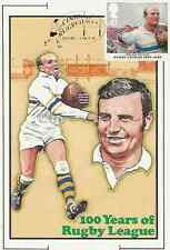 Warrington Maximum Original RUGBY LEAGUE CENTENARY MAXI POSTCARD