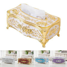 European Vintage HAYOYI Tissue Box Napkin Holder Paper Case Cover for Home Decor