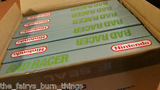 Rad Racer Nintendo NES Brand New Boxed & Complete With 3D Glasses .