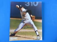 RON DAVIS SIGNED 8x10 PHOTO ~ NY YANKEES BASEBALL ~ 100% GUARANTEE