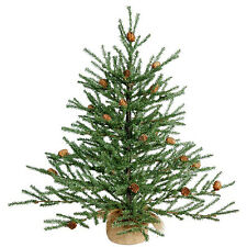 2ft Green Pine Artificial Christmas Tree with Pot Festival Gift