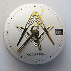 ACCUQUARTZ MOVEMENT Only with MASONIC DIAL - 224 model