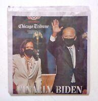 BIDEN WINS ELECTION November 8, 2020 Chicago Tribune Original Complete Newspaper