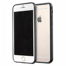 For iPhone SE 5s 6s 7 Clear Transparent Back Hard Case TPU Silicone Bumper Cover