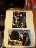 "Sons of Anarchy Genuine Hand Signed -Ron Perlman Clay Morrow - Mounted 16"" x 20"""